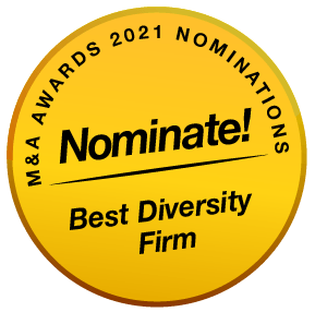 MenA Awards 2021 Buttons Nominate Best Diversity Firm